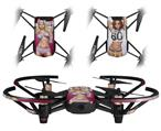 Skin Decal Wrap 2 Pack for DJI Ryze Tello Drone Boarder Pin Up Girl DRONE NOT INCLUDED