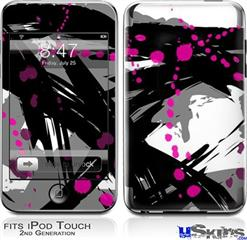 iPod Touch 2G & 3G Skin - Abstract 02 Pink