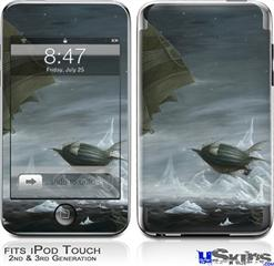 iPod Touch 2G & 3G Skin - Behold The Machine