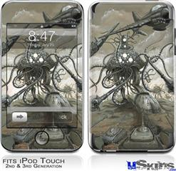 iPod Touch 2G & 3G Skin - Mankind Has No Time