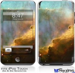 iPod Touch 2G & 3G Skin - Hubble Images - Gases in the Omega-Swan Nebula