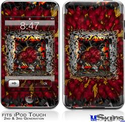 iPod Touch 2G & 3G Skin - Bed Of Roses