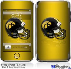 iPod Touch 2G & 3G Skin - Iowa Hawkeyes Helmet