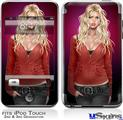 iPod Touch 2G & 3G Skin - Precious Pin Up Girl