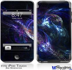 iPod Touch 2G & 3G Skin - Black Hole