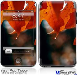 iPod Touch 2G & 3G Skin - Fall Oranges