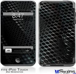 iPod Touch 2G & 3G Skin - Dark Mesh