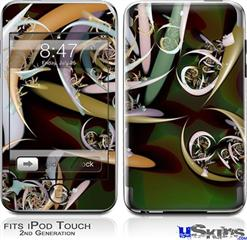 iPod Touch 2G & 3G Skin - Dimensions