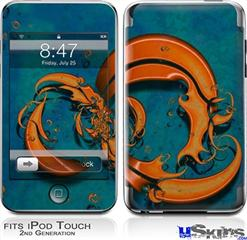 iPod Touch 2G & 3G Skin - Dragon2
