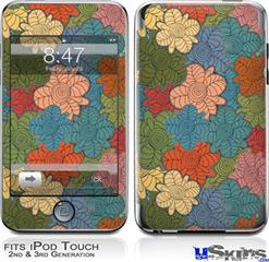 iPod Touch 2G & 3G Skin - Flowers Pattern 01