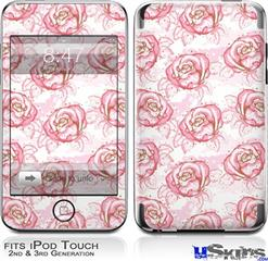 iPod Touch 2G & 3G Skin - Flowers Pattern Roses 13