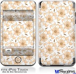 iPod Touch 2G & 3G Skin - Flowers Pattern 15