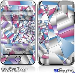 iPod Touch 2G & 3G Skin - Paper Cut