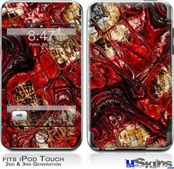 iPod Touch 2G & 3G Skin - Reaction