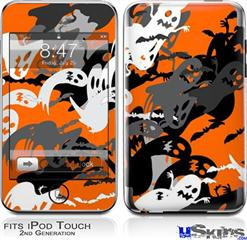 iPod Touch 2G & 3G Skin - Halloween Ghosts