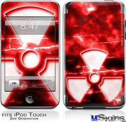 iPod Touch 2G & 3G Skin - RadioActive Red