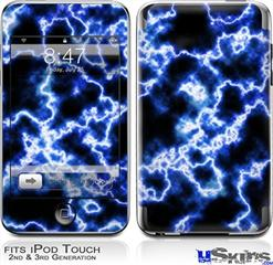 iPod Touch 2G & 3G Skin - Electrify Blue