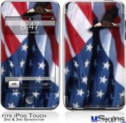 iPod Touch 2G & 3G Skin - American USA Flag (Ole Glory)