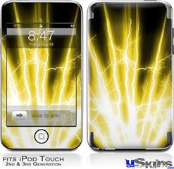 iPod Touch 2G & 3G Skin - Lightning Yellow