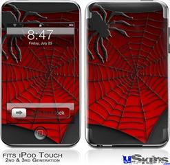 iPod Touch 2G & 3G Skin - Spider Web