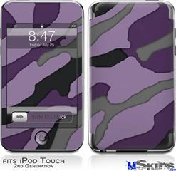 iPod Touch 2G & 3G Skin - Camouflage Purple