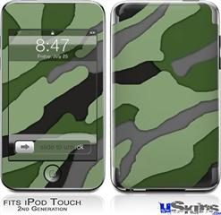 iPod Touch 2G & 3G Skin - Camouflage Green