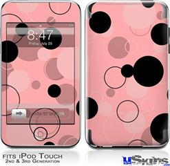 iPod Touch 2G & 3G Skin - Lots of Dots Pink on Pink